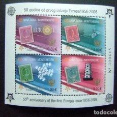 Sellos: MONTENEGRO 2006 50 ANIVERSARIO DE SELLOS DE EUROPA YVERT BLOC 2 ** MNH . Lote 103506411