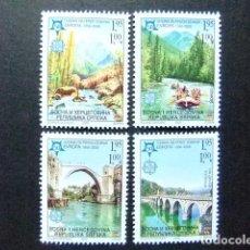 Sellos: BOSNIA HERCEGOVINA 2006 50 ANIVERSARIO DE EUROPA YVERT 317 / 20 ** MNH . Lote 103509743