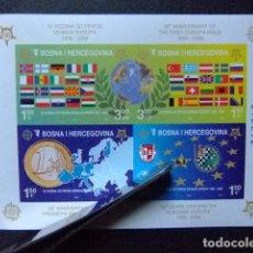 Sellos: BOSNIA HERCEGOVINA 2006 50 ANIVERSARIO DE EUROPA YVERT BLOC 27 ** MNH SIN DENTAR. Lote 103511227