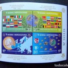 Sellos: BOSNIA HERCEGOVINA 2006 50 ANIVERSARIO DE EUROPA YVERT BLOC 27 ** MNH. Lote 103511743