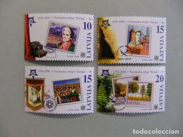 LETONIA LETTONIE LATVIJA 2006 EUROPE CEPT YVERT 627 / 30 ** MNH (Sellos - Temáticas - Europa Cept)