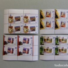 Stamps - LETONIA Lettonie Latvija 2006 Europe CEPT Yvert 627 / 30 ** MNH - 106964187