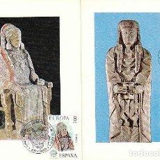 Stamps - EDIFIL 2177/8, EUROPA 1974, DAMA DE BAZA Y ALBACETE, PRIMER DIA MATASELLOS GRANADA DE 29-4-1974 - 107586055