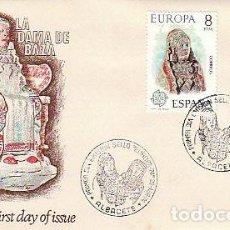 Sellos: EDIFIL 2177, EUROPA 1974, DAMA DE ALBACETE, PRIMER DIA ESPECIAL DE ALBACETE 29-4-1974 SOBRE DE ALFIL. Lote 107586227