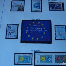 Sellos: TEMA EUROPA CARNETS AÑO 2008 MONTADO HOJAS EDIFIL Y FLOSTUCHES NEGROS PERFECTOS. Lote 108473787