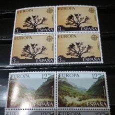 Timbres: SELLOS DE ESPAÑA NUEVOS. 1977. EDF: 2413-14. EUROPA CEPT. ARBOLES. PAISAJES. NATURALEZA. ORDESA. DO. Lote 112456459