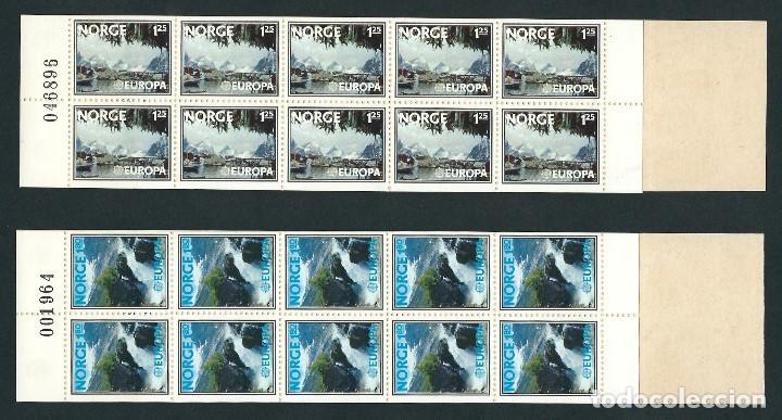 Sellos: NORUEGA 1977 EUROPA CEPT 2 CARNETS - Foto 2 - 112765911