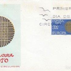 Sellos: EDIFIL 1973, EUROPA 1970, PRIMER DIA DE 4-5-1970 SOBRE DEL SFC . Lote 112906923