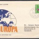 Sellos: LIECHTENSTEIN , 1960 YVERT Nº 355 , TEMA EUROPA , . Lote 113183283