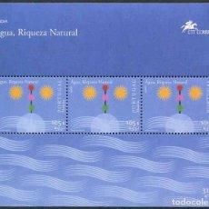 Sellos: MADEIRA - EUROPA / EL AGUA - HB (2001) **. Lote 116430919