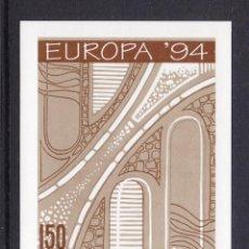 Sellos: ALBANIA 1994 HOJA BLOQUE EUROPA. Lote 118280663