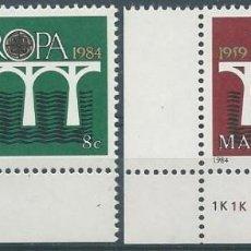 Sellos: AÑO 1984. MALTA. YV 685/6. MINT. . Lote 120008311