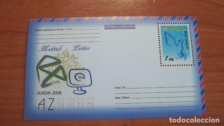 EUROPA CEPT AZERBAIYAN 2008 (HOJA BLOQUE) (Sellos - Temáticas - Europa Cept)