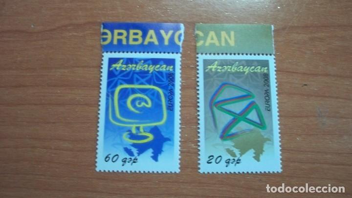 EUROPA CEPT AZERBAIYAN 2008 (2 VALORES) (Sellos - Temáticas - Europa Cept)