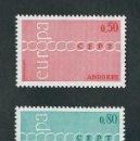 Sellos: ANDORRE / ANDORRA FRANCESA 1971 EUROPA CEPT NUEVOS. Lote 121887787