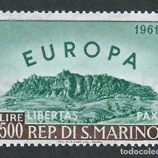 Sellos: SUIZA 1961 EUROPA CEPT Y&T 523 NUEVO. Lote 123526135