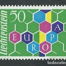 Sellos: SELLO LIECHTENSTEIN 1960 EUROPA Y&T 355 CEPT NUEVO. Lote 123527563