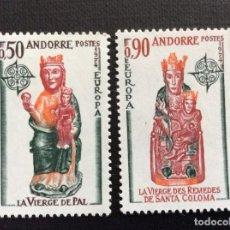 Sellos: ANDORRA FRANCESA Nº YVERT 237/8*** AÑO 1974. EUROPA. . Lote 125000491