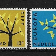 Sellos: NETHERLANDS 1962 EUROPA CEPT MNH - 5/20. Lote 125346663