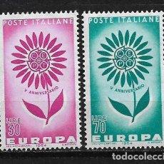 Sellos: ITALY 1964 EUROPA CEPT MNH - 5/20. Lote 125346731