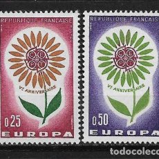 Sellos: FRANCE 1964 EUROPA CEPT MNH - 5/20. Lote 125346763