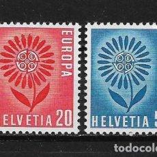 Sellos: SWITZERLAND 1964 EUROPA CEPT MNH - 5/19. Lote 125346835
