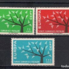 Sellos: TURQUIA 1962 NUEVO ** - EUROPA CEPT - 5/19. Lote 125346903