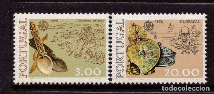 PORTUGAL 1291/92** - AÑO 1976 - EUROPA - ARTESANIA (Sellos - Temáticas - Europa Cept)
