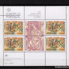 Sellos: PORTUGAL HB 36** - AÑO 1982 - EUROPA - ACONTECIMIENTOS HISTORICOS. Lote 128443055