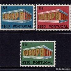 Sellos: PORTUGAL 1051/53** - AÑO 1969 - EUROPA. Lote 128992907