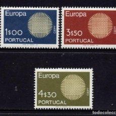 Sellos: PORTUGAL 1073/75** - AÑO 1970 - EUROPA. Lote 128993039