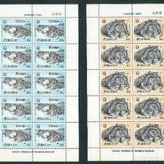 Sellos: SELLOS GIBRALTAR 1983 EUROPA CEPT Y&T 471/2** 2 MINIPLIEGOS. Lote 134029902