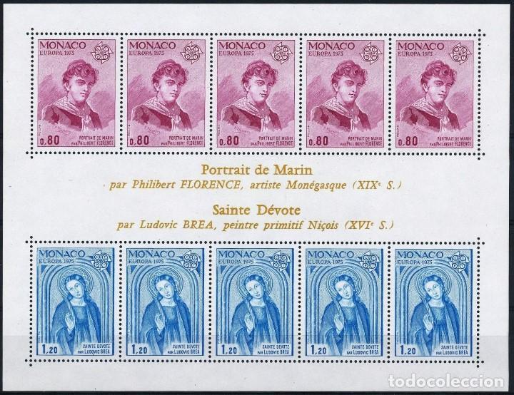 SELLOS MONACO 1975 Y&T 1003/4** EUROPA CEPT (Sellos - Temáticas - Europa Cept)