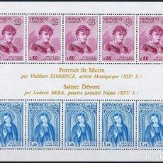 Sellos: SELLOS MONACO 1975 Y&T 1003/4** EUROPA CEPT. Lote 134598530