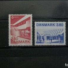 Sellos: DINAMARCA-1987-Y&T 897/8**(MNH) SIN FIJASELLOS A 8%. Lote 136552530