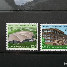 Sellos: LUXEMBOURG-1987-Y&T 1124/5**(MNH) SIN FIJASELLOS A 8%. Lote 136562706
