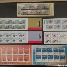 Sellos: LOTE DE 6 CARNETS TEMA EUROPA AÑO 2004. Lote 136618920