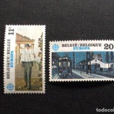 Sellos: BELGICA Nº YVERT 2091/2*** AÑO 1983. EUROPA. PINTURA. Lote 136758046