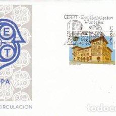 Sellos: EDIFIL 3058/9, EUROPA 1990, ESTABLECIMIENTOS POSTALES DE VITORIA Y MALAGA, PRIMER DIA 4-5-1990 SFC. Lote 136841566
