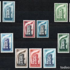 Sellos: TEMA EUROPA AÑO 1956 COMPLETO *** (INCLUYE LUXEMBURGO). Lote 137148046