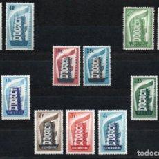 Sellos: TEMA EUROPA AÑO 1956 COMPLETO***. Lote 137148122