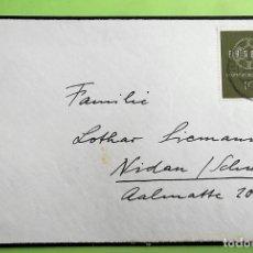 Selos: ALEMANIA. SPD 193 EUROPA: AROS ENLAZADOS. 1959. MATASELLO ILEGIBLE. Lote 137986281