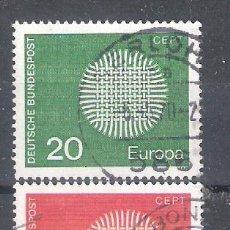 Stamps - ALEMANIA nº 483/484º Europa 1970. Serie completa - 140510398
