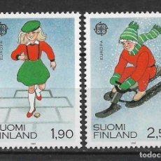 Francobolli: FINLANDIA 1989 SC# 795/796 EUROPA CEPT ** MNH - 1/2. Lote 142958662