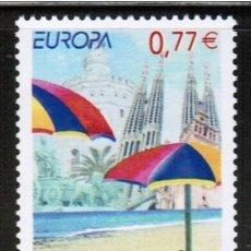 Timbres: ESPAÑA 2004 - EUROPA CEPT - TURISMO VACACIONES - 1 SELLO. Lote 146913186