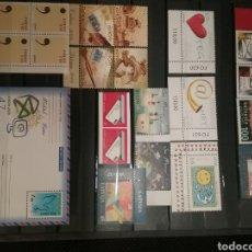 Sellos: LOTE DE SELLOS DEL TEMA EUROPA DEL AÑO 2008. Lote 147371276