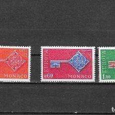 Sellos: MONACO Nº 749 AL 751 (**). Lote 147560922