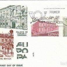 Sellos: EDIFIL 2474/5, EUROPA 1978, PRIMER DIA) DE 2-5-1978 EN SOBRE DE ALFIL. Lote 148187054