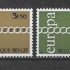Sellos: BELGICA 1971 EUROPA CEPT ** NUEVO - 2/30. Lote 152226158