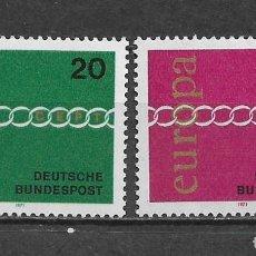 Sellos: ALEMANIA 1971 EUROPA CEPT ** NUEVO - 2/30. Lote 152226214